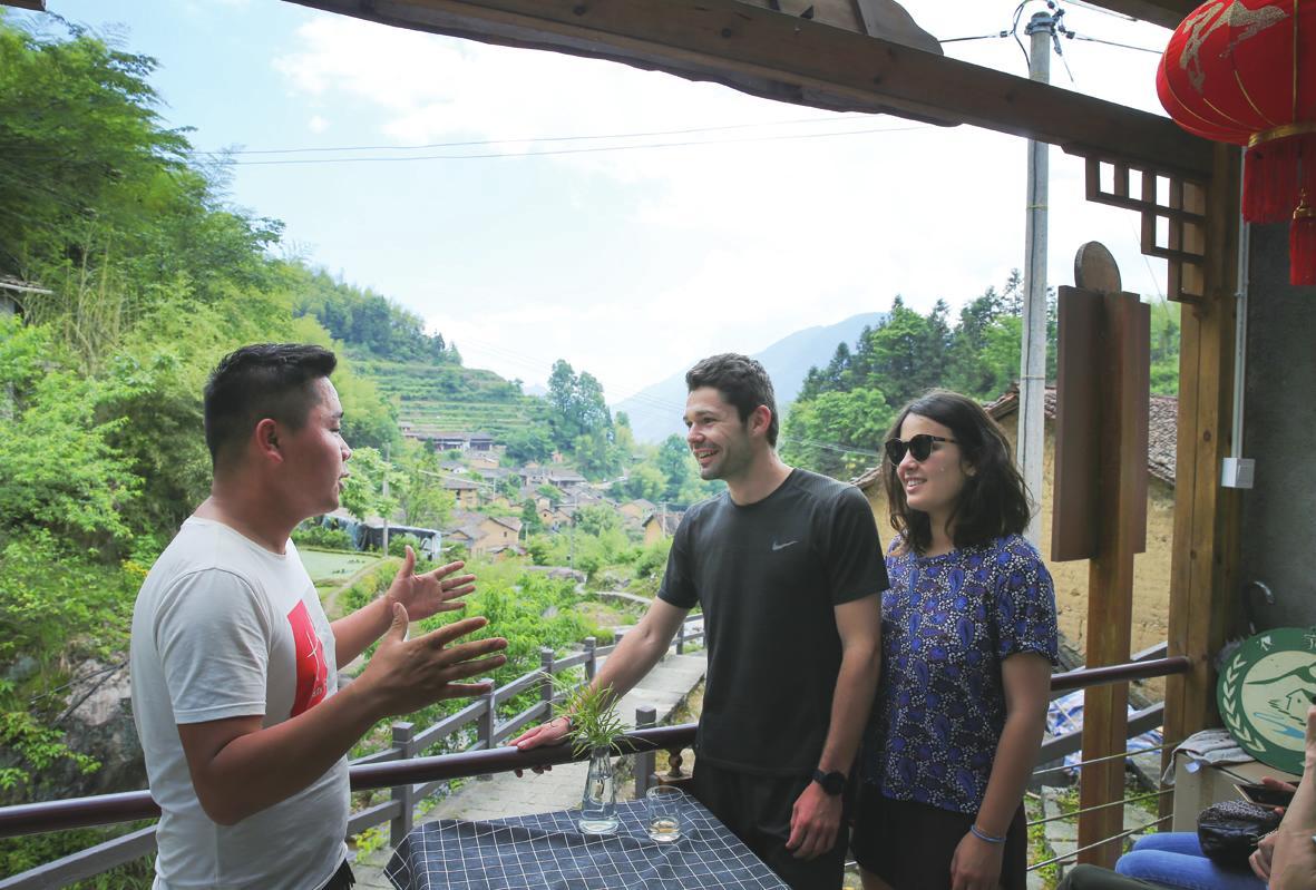 云和梯田景区吸引八方游客